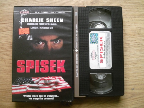 NEVADA VIDEO - kultowe filmy na VHS - Spisek - Shadow