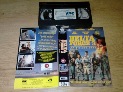 NEVADA VIDEO - kultowe filmy na VHS - Delta Force 3