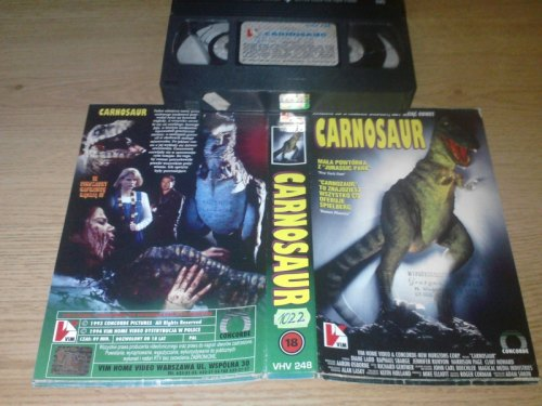 NEVADA VIDEO - kultowe filmy na VHS - Carnosaur (1993)